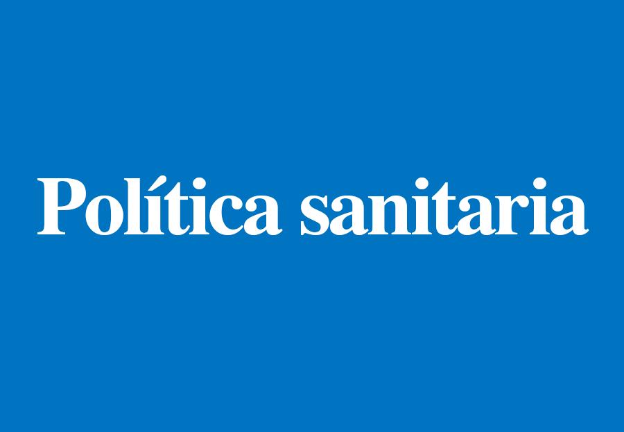 PolíticaSanitaria